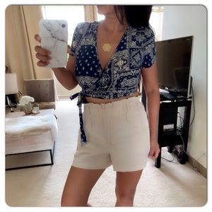 NWOT FOREVER 21 Wrap Crop Top